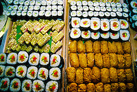 Various types of sushi, Japanese Restaurant