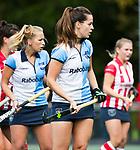 AMSTELVEEN - Sabine Plonissen (Hurley)  Hoofdklasse competitie dames, Hurley-HDM (2-0) . FOTO KOEN SUYK