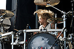 Will Hunt of Device performs during the 2013 Rock On The Range festival at Columbus Crew Stadium in Columbus, Ohio.