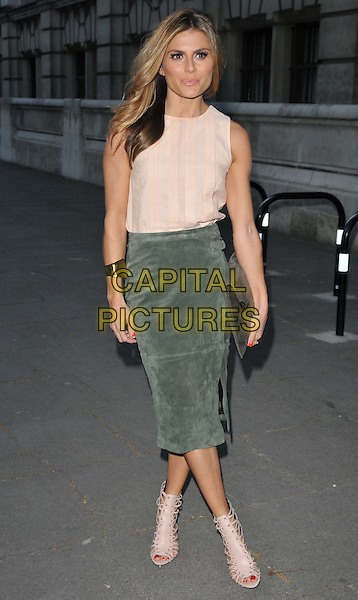 LONDON, ENGLAND - APRIL 20: Zoe Hardman attends the Oasis and Victoria &amp; Albert Museum collection launch party, V &amp; A Museum, Cromwell Rd., on Monday April 20, 2015 in London, England, UK. <br /> CAP/CAN<br /> &copy;CAN/Capital Pictures