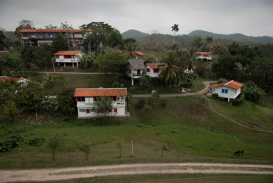 The eco-village  Las Terrazas, founded in 1968 by the government as an ecological experiment to revitalize the poor province of Pinar del Rio. Today the ambitious project stands out as a unique example of an eco tourist resort in Cuba.