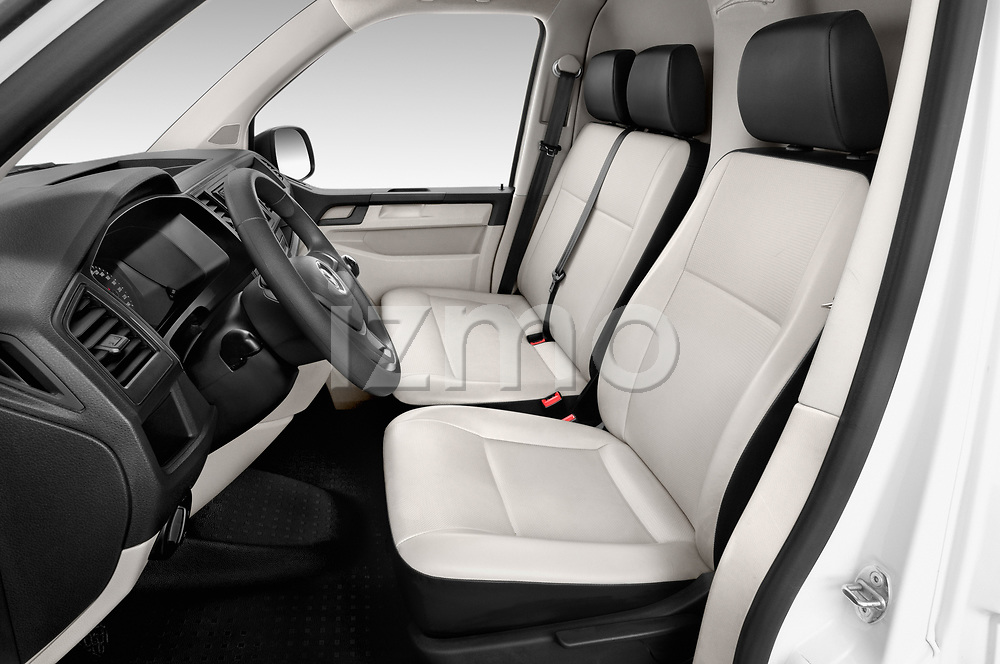 Front seat view of a 2018 Volkswagen Transporter Base 4 Door Pick Up front seat car photos