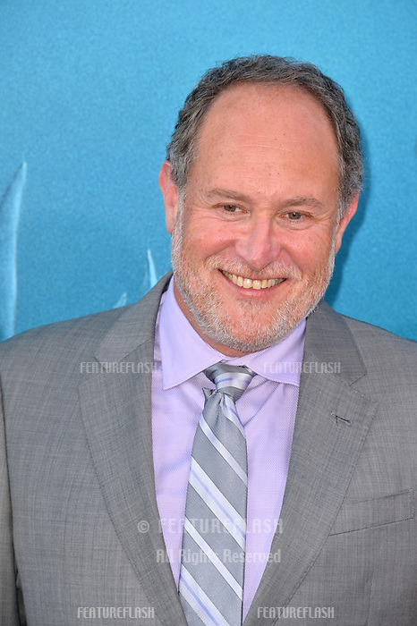 """LOS ANGELES, CA - August 06, 2018: Jon Turteltaub at the US premiere of """"The Meg"""" at the TCL Chinese Theatre"""