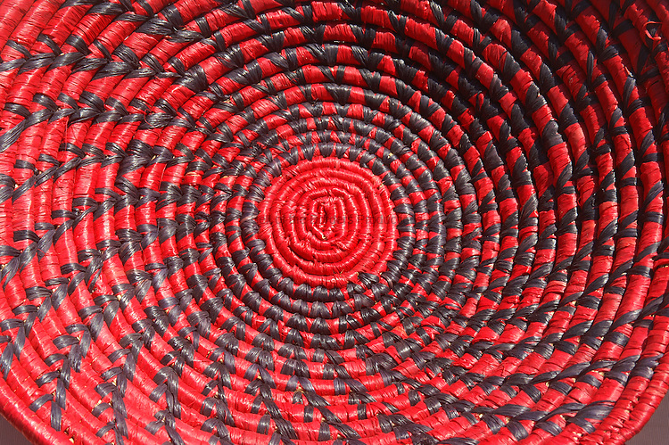 A beautiful basket weave pattern.