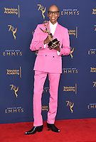 09 September 2018 - Los Angeles, California - RuPaul. 2018 Creative Arts Emmy Awards - Press Room held at Microsoft Theater. <br /> CAP/ADM/BT<br /> &copy;BT/ADM/Capital Pictures