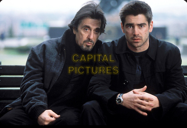 AL PACINO & COLIN FARRELL.in The Recruit.Filmstill - Editorial Use Only.CAP/AWFF.supplied by Capital Pictures