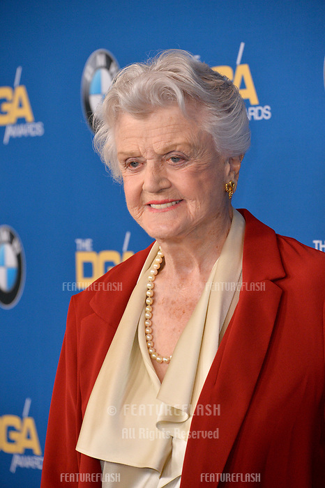 Angela Lansbury at the 70th Annual Directors Guild Awards at the Beverly Hilton Hotel, Beverly Hills, USA 03 Feb. 2018<br /> Picture: Paul Smith/Featureflash/SilverHub 0208 004 5359 sales@silverhubmedia.com