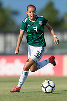 Bradenton, FL - Sunday, June 12, 2018: Tanna Sanchez during a U-17 Women's Championship Finals match between USA and Mexico at IMG Academy.  USA defeated Mexico 3-2 to win the championship.