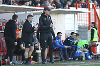 Crawley Town manager Gabriele Cioffi during Crawley Town vs Macclesfield Town, Sky Bet EFL League 2 Football at Broadfield Stadium on 23rd February 2019