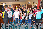Farewell party for Karen Conway, from Shanakill, leaving Austin Stacks ClubHouse staff after 3 years to go to San Francisco, here celebrating at the Club with family and  Friends on Monday