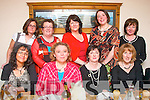 BOOKED IN: At Bella Bia restaurant, Ivy Terrace, Tralee on Saturday night for their annual outing were the ladies of Kilmoyley book club, seated l-r: Valerie Moore, Amanda Breen, Bernie Meehan and Eileen Leen. Back l-r: Geraldine Cooke, Breda Ryan, Sandra Griffin, Aine Crowe and Julia O'Connor.