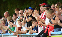 Spectators during the first half<br /> <br /> Photographer Chris Vaughan/CameraSport<br /> <br /> Football - Pre-Season Friendly - Lincoln United v Lincoln City - Saturday 8th July 2017 - Sun Hat Villas Stadium - Lincoln<br /> <br /> World Copyright &copy; 2017 CameraSport. All rights reserved. 43 Linden Ave. Countesthorpe. Leicester. England. LE8 5PG - Tel: +44 (0) 116 277 4147 - admin@camerasport.com - www.camerasport.com