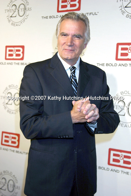John McCook .The Bold & The Beautiful 20th Anniversary Party.Two Rodeo Drive.Beverly Hills, CA.March 25, 2007.©2007 Kathy Hutchins / Hutchins Photo.