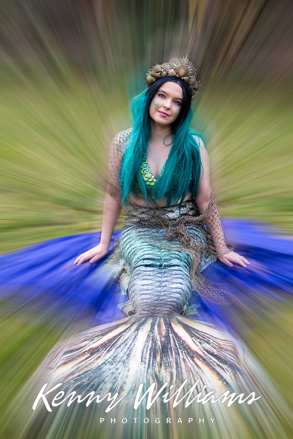 Olga Margolina as Mermaid Mirabel, Emerald City Comicon, Seattle, Washington, USA.