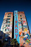 USA, California, San Francisco, The Mission, Bethany Senior Center, the tallest mural in San Francisco painted by Dan Fontes in 1997