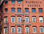 Wadworth Northgate brewery Devizes, Wiltshire, England