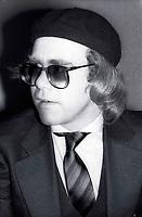 1978 <br /> New York City<br /> Elton John at Studio 54<br /> CAP/MPI/PHI<br /> &copy;MPI67/Capital Pictures