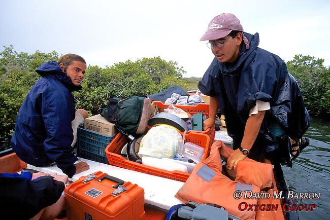 Sean Sanders, Paco Ollervides Getting In Boat