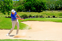 Jake Higginbottom (AUS) in action during the second round of the Afrasia Bank Mauritius Open played at Heritage Golf Club, Domaine Bel Ombre, Mauritius. 01/12/2017.<br /> Picture: Golffile | Phil Inglis<br /> <br /> <br /> All photo usage must carry mandatory copyright credit (&copy; Golffile | Phil Inglis)