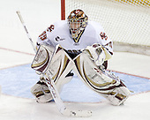 Parker Milner (BC - 35) - The Boston College Eagles defeated the University of Massachusetts-Amherst Minutemen 2-1 (OT) on Friday, February 26, 2010, at Conte Forum in Chestnut Hill, Massachusetts.