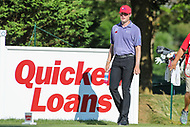 Bethesda, MD - July 1, 2017: Kyle Riefers walks to the 16th hole tee during Round 3 of professional play at the Quicken Loans National Tournament at TPC Potomac in Bethesda, MD, July 1, 2017.  (Photo by Elliott Brown/Media Images International)