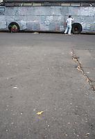 Street Art, Colonia Roma, Mexico DF.