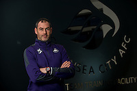 Tuesday 10 January 2017<br /> Pictured: Swansea City Manager Paul Clement <br /> Re: Swansea City Manager Paul Clement