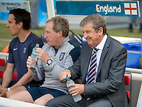 England manager Roy Hodgson looks dejected
