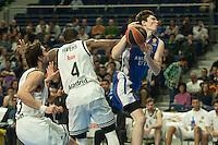 Real Madrid´s K.C. Rivers and Anadolu Efes´s Cedi Osman during 2014-15 Euroleague Basketball match between Real Madrid and Anadolu Efes at Palacio de los Deportes stadium in Madrid, Spain. December 18, 2014. (ALTERPHOTOS/Luis Fernandez) /NortePhoto /NortePhoto.com