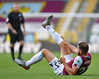 Burnley's Erik Pieters is injured<br /> <br /> Photographer Dave Howarth/CameraSport<br /> <br /> The Premier League - Burnley v Brighton & Hove Albion - Sunday 26th July 2020 - Turf Moor - Burnley<br /> <br /> World Copyright © 2020 CameraSport. All rights reserved. 43 Linden Ave. Countesthorpe. Leicester. England. LE8 5PG - Tel: +44 (0) 116 277 4147 - admin@camerasport.com - www.camerasport.com
