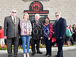 Louth Leader Partnership members Finan McCoy, Mary O'Neill, Benny Devlin, Mary Ann McGlynn and Frank O'Brien at the official opening of St. Kevin's Community Centre in Phillipstown. Photo:Colin Bell/pressphotos.ie