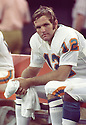 Miami Dolphins Bob Griese (12) sideline portrait during a game from his career with the Miami Dolphins. Bob Griese played for 14 seasons, all with the Miami Dolphins, was a 8-time Pro Bowler and was inducted to the Pro Football Hall of Fame in 1990.(SportPics)