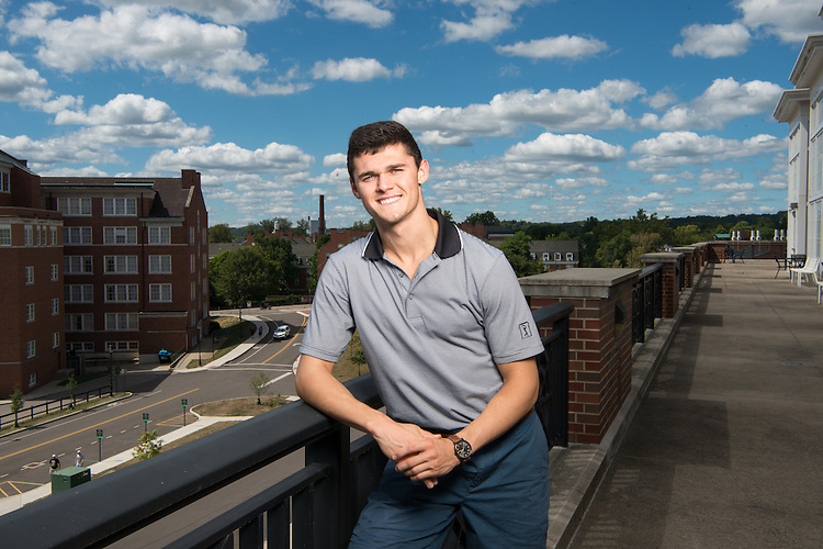 Liam Moore, Student, College of Business, Undergraduate Admissions, voices of OHIO