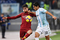 Cengiz Under Roma - Gabriel Cleur Entella.<br /> Roma 14-01-2019 Stadio Olimpico<br /> Football Italy Cup 2018/2019, Round of 16 <br /> AS Roma - Virtus Entella<br /> Foto Image Sport  / Insidefoto