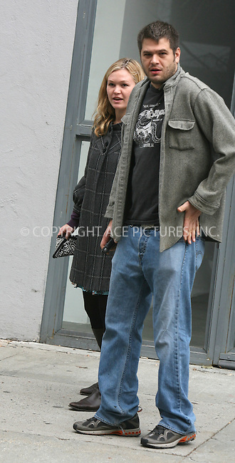 WWW.ACEPIXS.COM ** ** ** ....November 28, 2006, New York City. ....Julia Stiles with her boyfriend going out of a Chelsea Art Gallery. ....Please byline: Philip Vaughan -- ACEPIXS.COM.. *** ***  ..Ace Pictures, Inc:  ..Philip Vaughan (212) 243-8787 or (646) 769 0430..e-mail: info@acepixs.com..web: http://www.acepixs.com