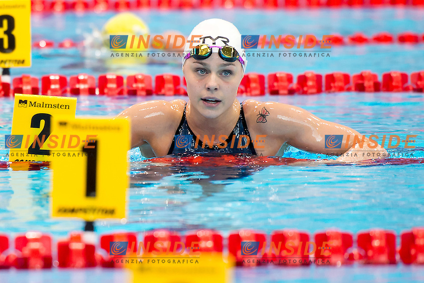 BLUME Pernille DEN<br /> 100 freestyle women<br /> London, Queen Elizabeth II Olympic Park Pool <br /> LEN 2016 European Aquatics Elite Championships <br /> Swimming day 02  heats<br /> Day 09 17-05-2016<br /> Photo Giorgio Scala/Deepbluemedia/Insidefoto
