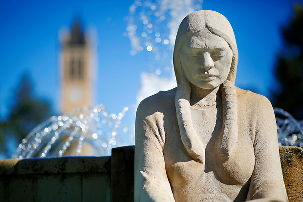 Fountain of the Four Seasons (Photo by Christopher Gannon/Iowa State University)