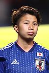 Mina Tanaka (JPN), <br /> DECEMBER 11, 2017 - Football / Soccer : <br /> EAFF E-1 Football Championship 2017 Women's Final match <br /> between Japan 1-0 China <br /> at Fukuda Denshi Arena in Chiba, Japan. <br /> (Photo by Naoki Nishimura/AFLO SPORT)
