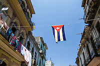 HAVANA, CUBA, 22.07.2015 –  Vista do bairro Habana Vieja na cidade de Havana em Cuba. (Foto: Paulo Lisboa/Brazil Photo Press)