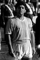 Pix:Michael Steele/SWpix...International Soccer. Argentina v Italy, Cagliari, Italy, 1989...COPYRIGHT PICTURE>>SIMON WILKINSON..Argentinas Diego Maradona.