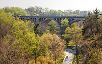 Rock Creek Parkway from Calver St Bridge  Washington DC