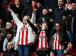 Sheffield Utd fans during the Premier League match at Bramall Lane, Sheffield. Picture date: 7th March 2020. Picture credit should read: Simon Bellis/Sportimage