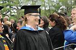 Meryl Streep, a Vassar College Trustee, at Vassar's Commencement, May 23, 2010