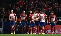 2018.10.27 La Liga Atletico de Madrid VSReal Sociedad