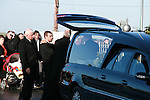 Funeral of three year old Desmond Dyas who was killed in an accident in Drogheda Port on Tuesday..Photo NEWSFILE/Jenny Matthews.(Photo credit should read Jenny Matthews/NEWSFILE)....This Picture has been sent you under the condtions enclosed by:.Newsfile Ltd..The Studio,.Millmount Abbey,.Drogheda,.Co Meath..Ireland..Tel: +353(0)41-9871240.Fax: +353(0)41-9871260.GSM: +353(0)86-2500958.email: pictures@newsfile.ie.www.newsfile.ie.FTP: 193.120.102.198.