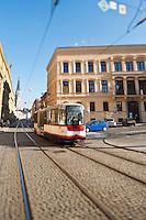 Street tram, Olomouc, Czech Republic