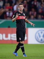 FUSSBALL   DFB POKAL 2. RUNDE   SAISON 2013/2014 SC Freiburg - VfB Stuttgart      25.09.2013 Christian Gentner (VfB Stuttgart) nachdenklich