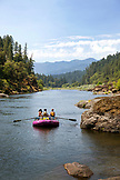 USA, Oregon, Wild and Scenic Rogue River in the Medford District, scenic near Floridel Creek