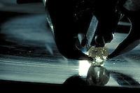 Diamond being polished.