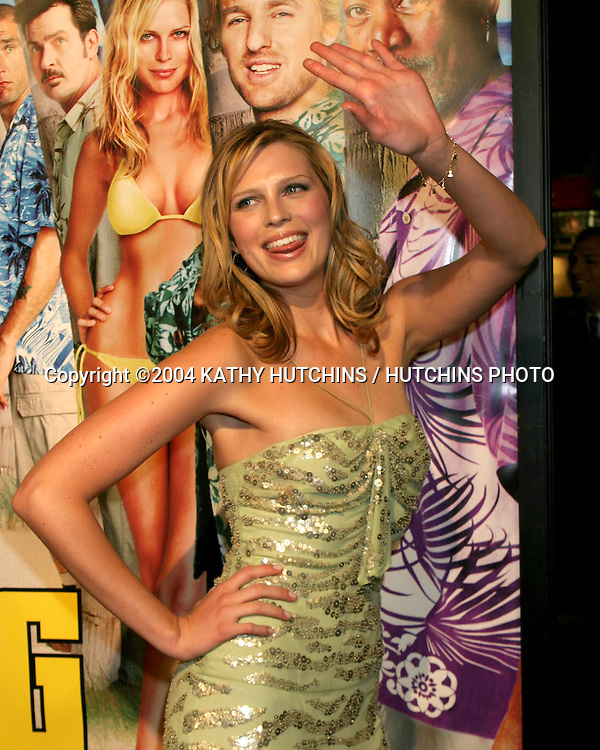 "©2004 KATHY HUTCHINS / HUTCHINS PHOTO.""THE BIG BOUNCE"" PREMIERER.WESTWOOD, CA.JANUARY 29, 2004..SARA FOSTER"
